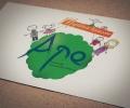 Logo pour assocoation des parents d'élèves de mignaloux-beauvoir réalisé sous illustrator par Aurélie Stadelmann infographiste webdesigner independante et freelance près de poitiers