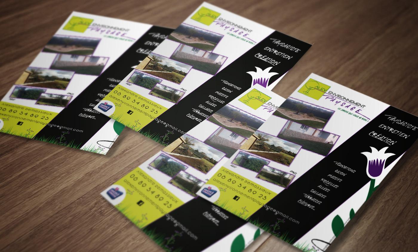 Dentreprise De Moins 2 Ans Avec La Creation Dun Logo Cartes Visite Et Flyer Limpression 500 1000 Flyers Pour 1200EUR HT